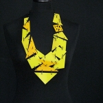 SUNNY DAY – two shades of yellow with black steel links