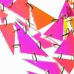 RASPRODANO / IRIDESCENTNA (duginih boja, boje se prelijevaju) sa zlatnim, mesinganim karikama